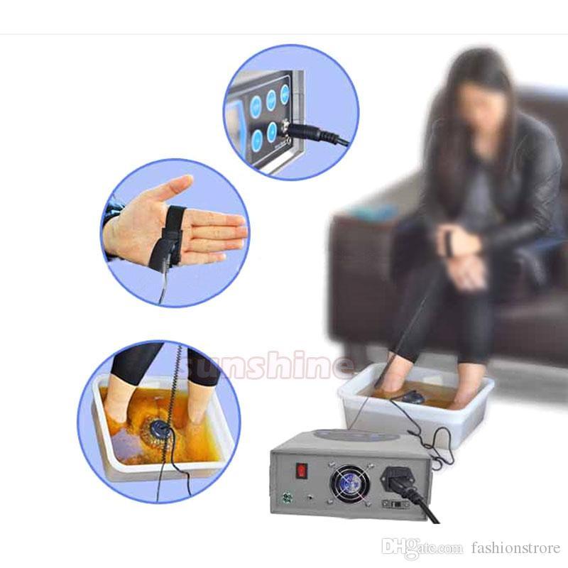 발 해독 기계 이온 발 목욕 스파 원적외선 셀 클린 원적외선 적외선 벨트 고급스러운 이오니아 해독 발 스파
