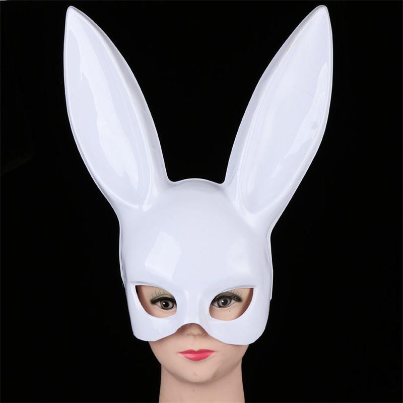 2017 Bunny Mask Rabbit Bar masquerade Mask Rabbit Ears The Easter bunny Mask Halloween Makeup Party
