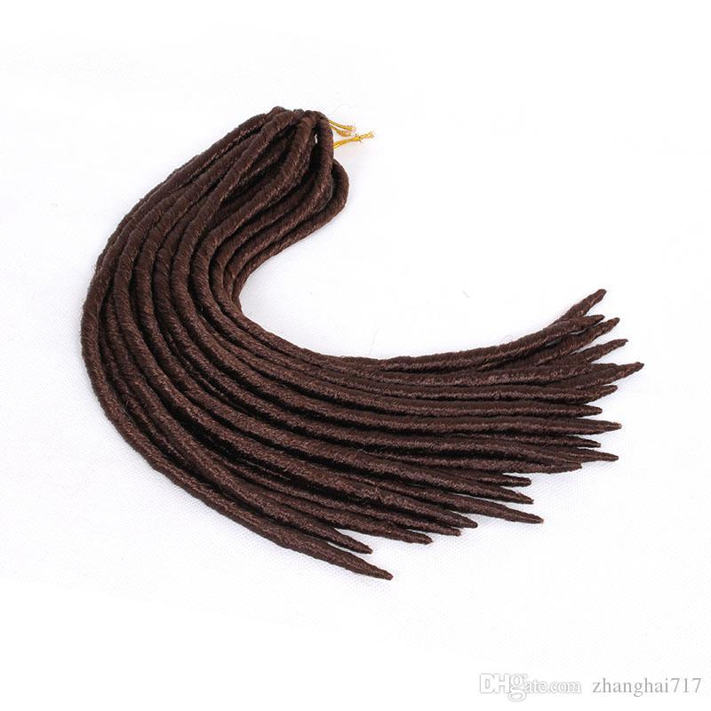 Goddess Locs Faux Locs Synthetic Braiding Hair Dreadlocks Synthetic Dreads 18inch Crochet Braids Hairstyles Kanekalon Hair