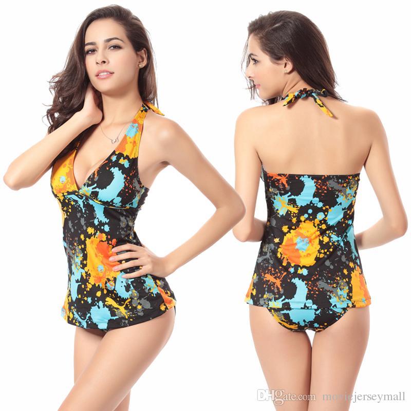 2016 Sexy traje de baño Bikini vestido para mujer Push Up Bikini brasileño atractivo del vendaje del traje de baño traje de baño de las señoras traje de baño