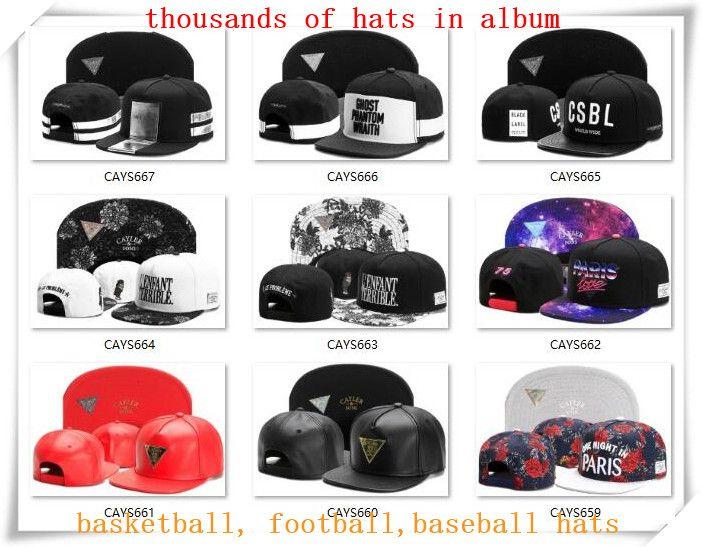 590ac1e7c8ea2f New Snapback Hats Cap Cayler Sons Snap Back Baseball Football ...