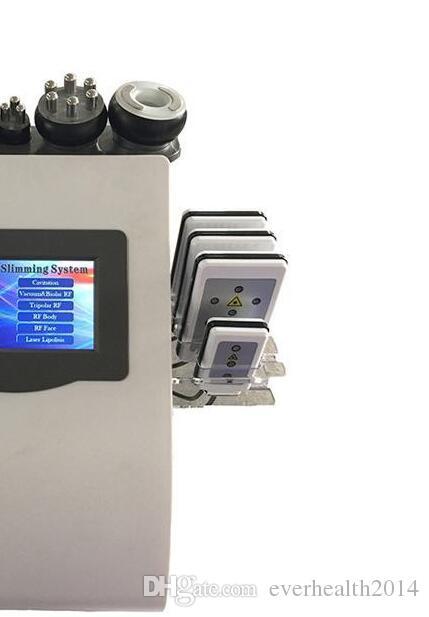 레이저 슬리밍 기계 사러가 진공 Biploar 머리 40K 초음파 지방 흡입 수술 공동 현상 LLLT