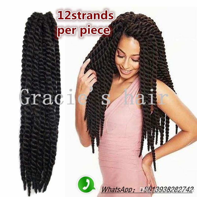24inch Havana Mambo Twist Crochet Braid Hair Havana Twist Crochet