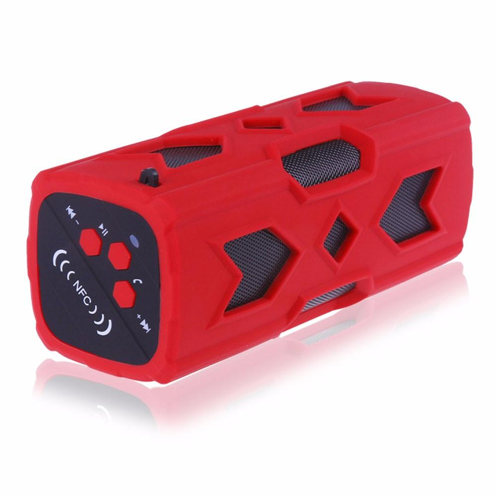 Waterproof Bluetooth Speaker NFC 3600mAh Power Bank Shockproof Stereo Wireless Player Bicycle Cycling Audio Sound Subwoofer Box