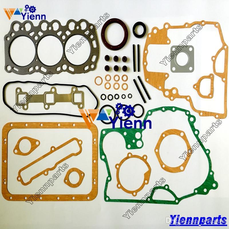 L3E L3E-61SDH full overhaul gasket kit upper lower set for Mitsubishi  engine Peljob EB12 4 EB14 EB15 Volvo EC15 EC15B EC20 EC14 excavator