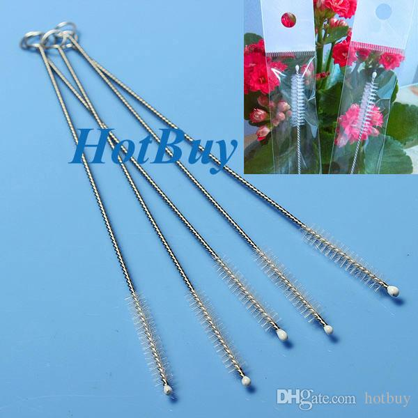 Stainless Steel Wire Cleaning Brush Straws Cleaning Brush Bottles ...