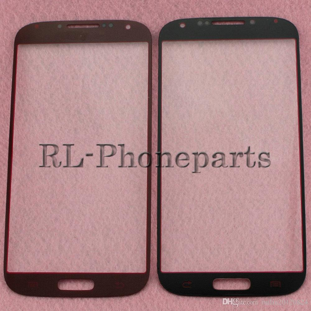 DHL LCD Touch Screen Front Outer Glass Lens Digitizer Screen For Samsung Galaxy S4 i9500 i9505 M919 S4 mini I9190 I9195