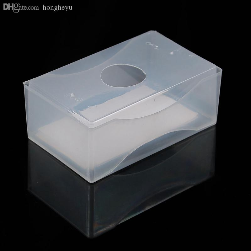 2018 Wholesale Clear Plastic Card Holder Business Card Boxes White ...