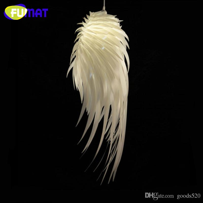 Fumat Modern Creative Pvc Feather Pendant Light Dinning Room Living Room L& Bedroom Decoration Angel Wings Pendant L& Light Ceiling Kitchen Pendants ... & Fumat Modern Creative Pvc Feather Pendant Light Dinning Room Living ...