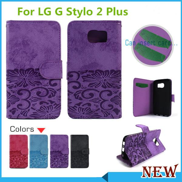 lg flip phone purple. cool for lg x power volt 3 k210 k6 k6p boost mobile stylo 2 plus ms550 wallet flip leather case cover credit card slots best cell phone purple w
