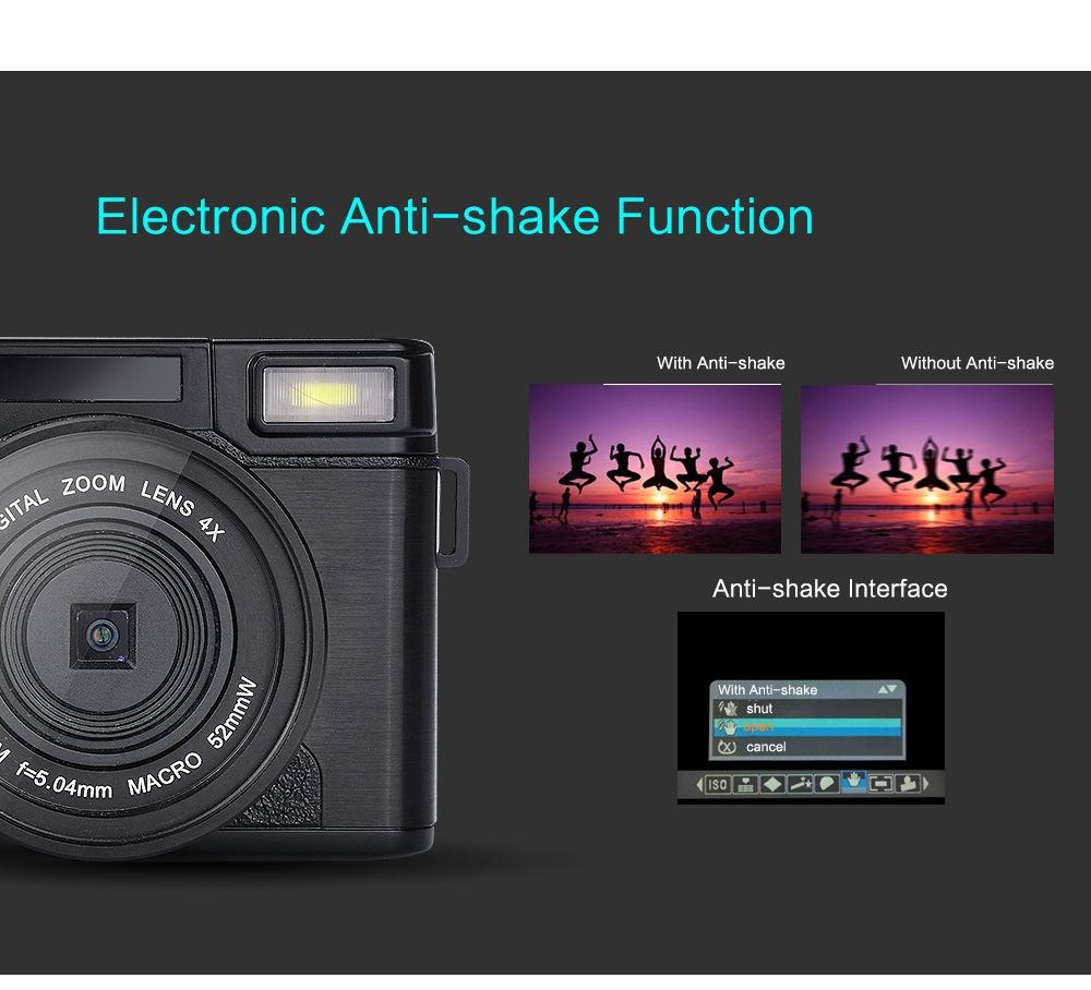 new 24MP HD Half-DSLR Professional Digital Cameras with 4x Telephoto,Fisheye & Wide Angle Lens Camera Macro HD Camera