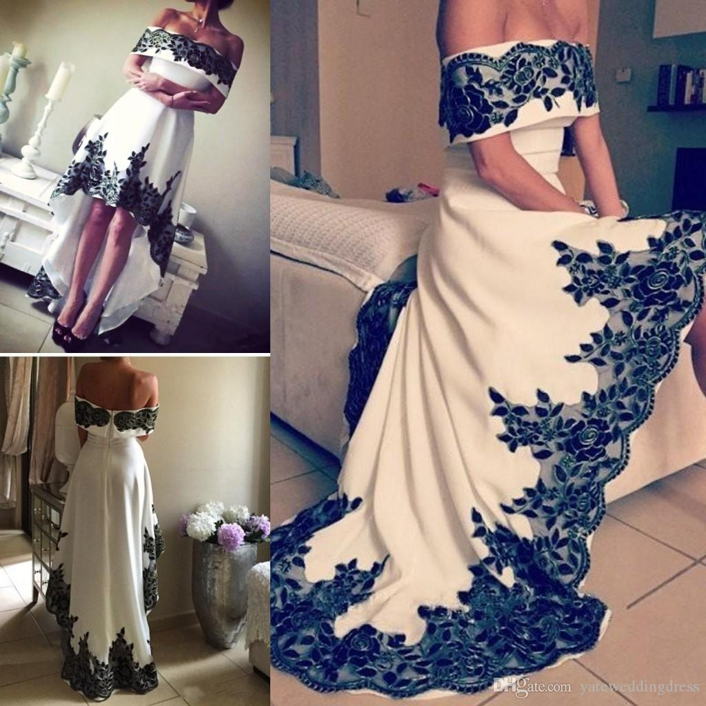 Discount Free Shipping Cwds078 One Shoulder With: New Arrival Off Shoulder Prom Dresses 2017 Elegant High