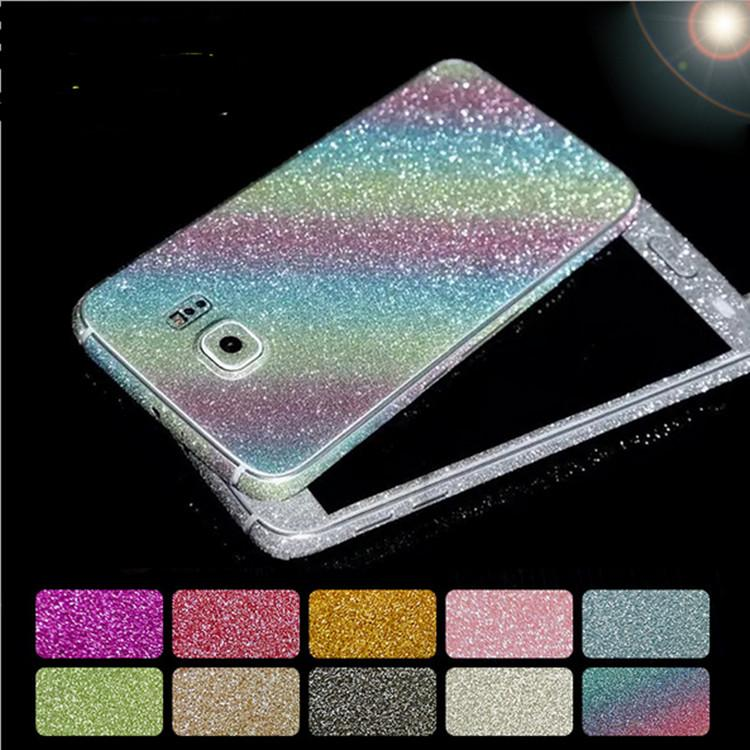 Handy Schutzfolie Aufkleben Volle Ganze Körper Glitter Bling Screen