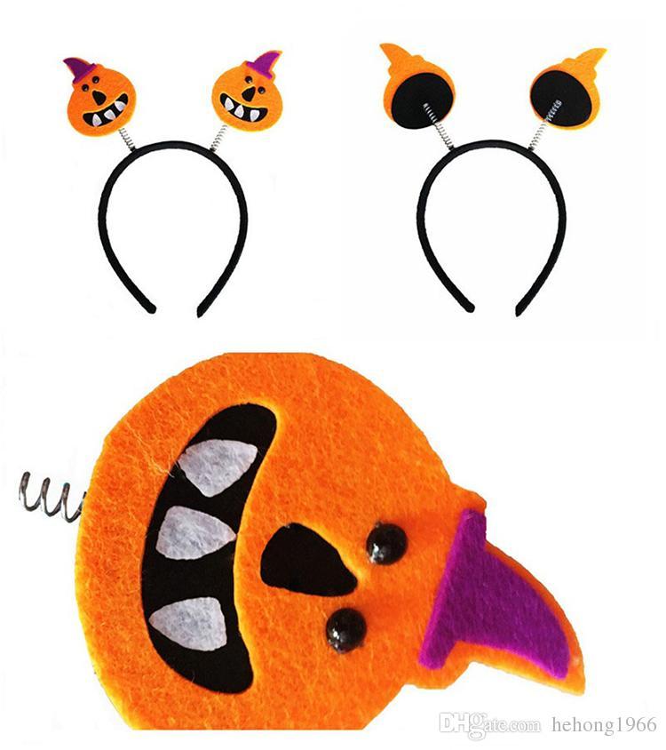 Маскарад волос группа Хэллоуин тыква ведьма крылья летучей мыши скелет оголовье многоцветные украшения обруч для волос прекрасный 1 8gf б р