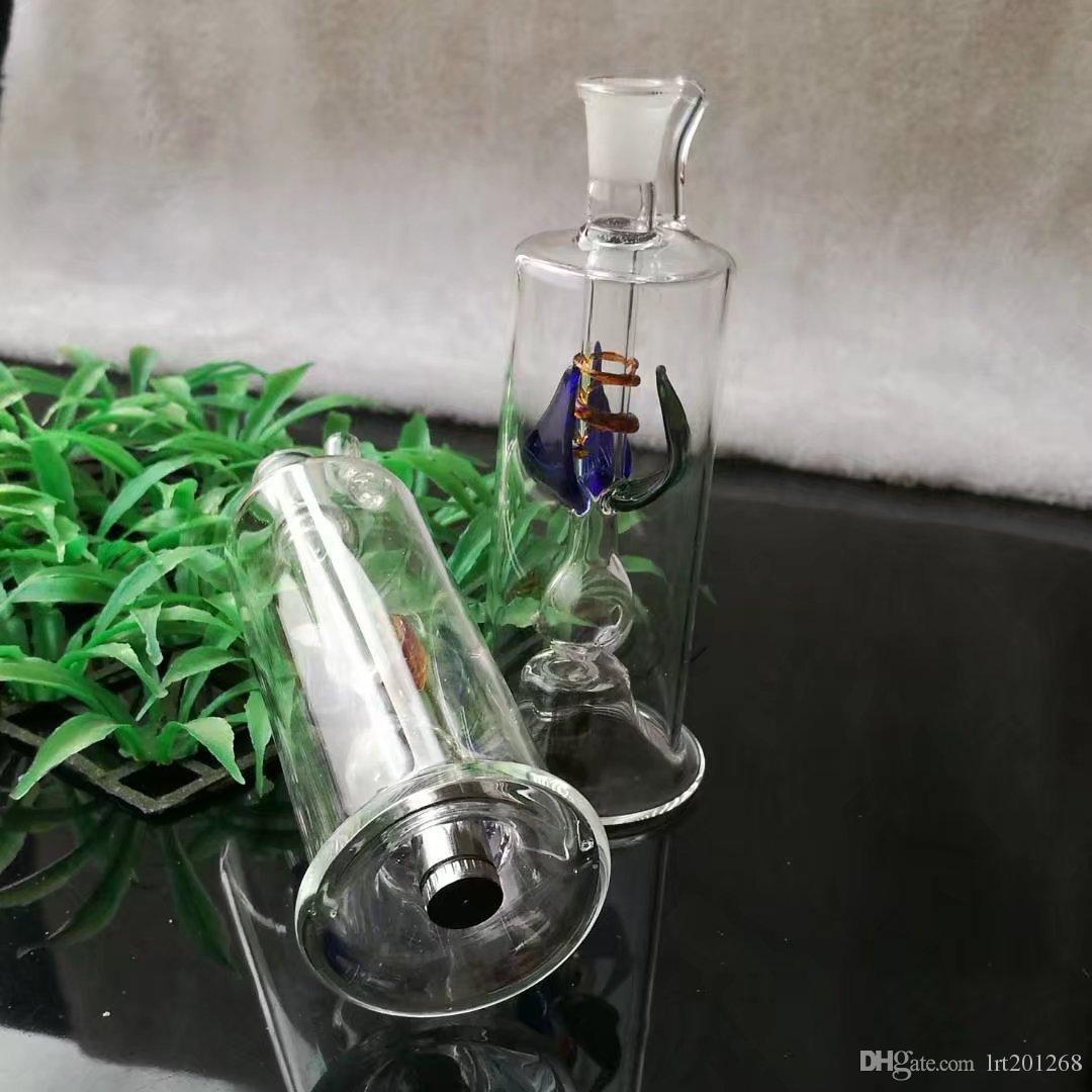 고품질의 멀티 플라워 호스는 전자를 보내지 않습니다. 도매 유리 봉 오일 버너 유리 파이프 워터 파이프 오일 리깅 흡연 무료 Shipp