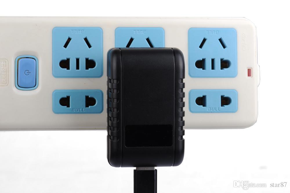 1080 P HD Plug WIFI Sem Fio Mini Plug Camera Mini Filmadora de Vídeo LEVOU pequeno sensor de luz da noite tomada de controle de luz interruptor de tomada Câmeras 220 V