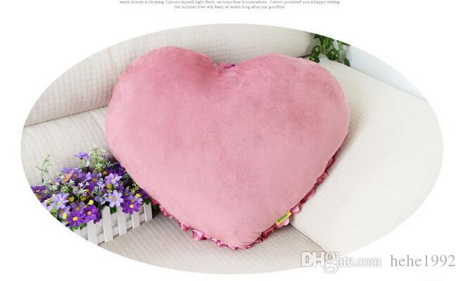 Plush heart-shaped pillow love pillow Rose Valentine gift home pillow Valentine's Day gift