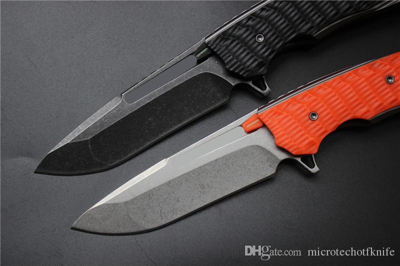 Ücretsiz nakliye, yüksek kaliteli katlanır bıçak, bıçak 9cr18mov, paslanmaz çelik + FRN kolu material.Plane rulman açık kamp bıçak EDC