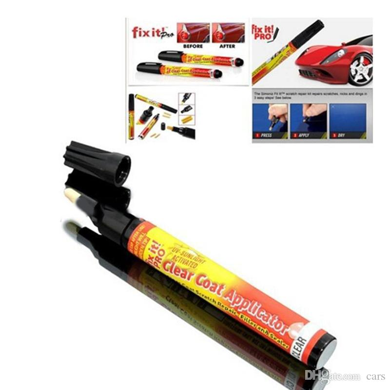 HOT Fix it PRO Car Coat Scratch Cover Remove Painting Pen Car Scratch Repair for Simoniz Clear Pens Packing car care