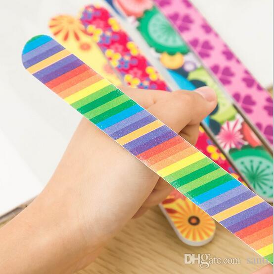 Attrezzo manicure trucco unghie con smalto acrilico smerigliare smalto acrilico smalto su 2 lati