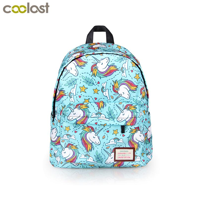 ad87b2f0e91 Cartoon Animal Unicorn Panda Backpack For Teenage Girls Children School  Bags Kids Bookbag Cute Rainbow Horse School Backpack Bag
