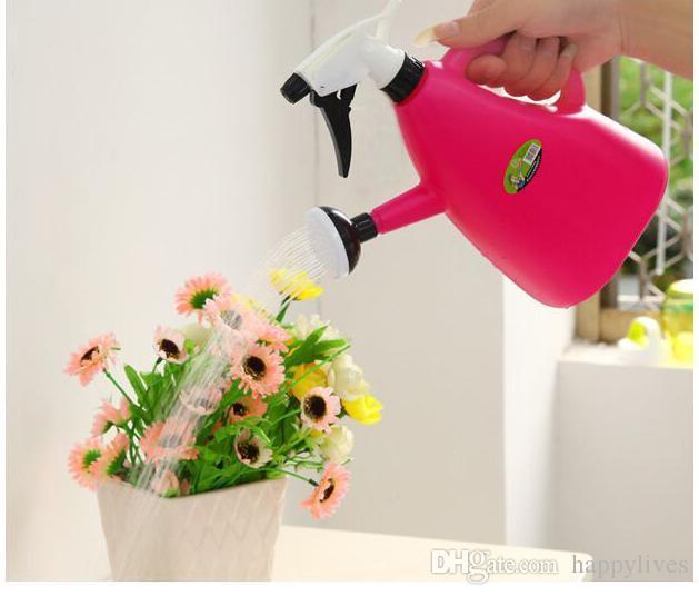 2 Pz / set Piccoli Attrezzi da Giardinaggio Irrigazione Sprinkler Portatile In Casa Innaffiatoio Pianta Attrezzi Da Giardino Acqua Annaffiatoio In Plastica