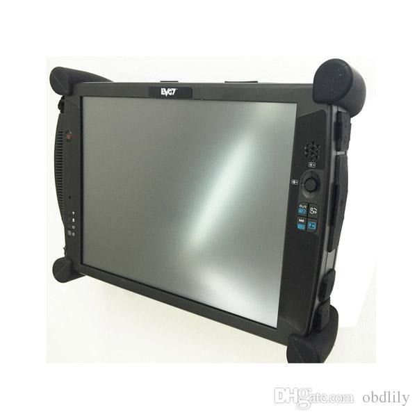 Лучшее качество EVG7 DL46/HDD500GB/DDR8GB диагностический контроллер планшетный ПК + новейший MB SD Connect Compact 4 C4 DHL быстрая доставка