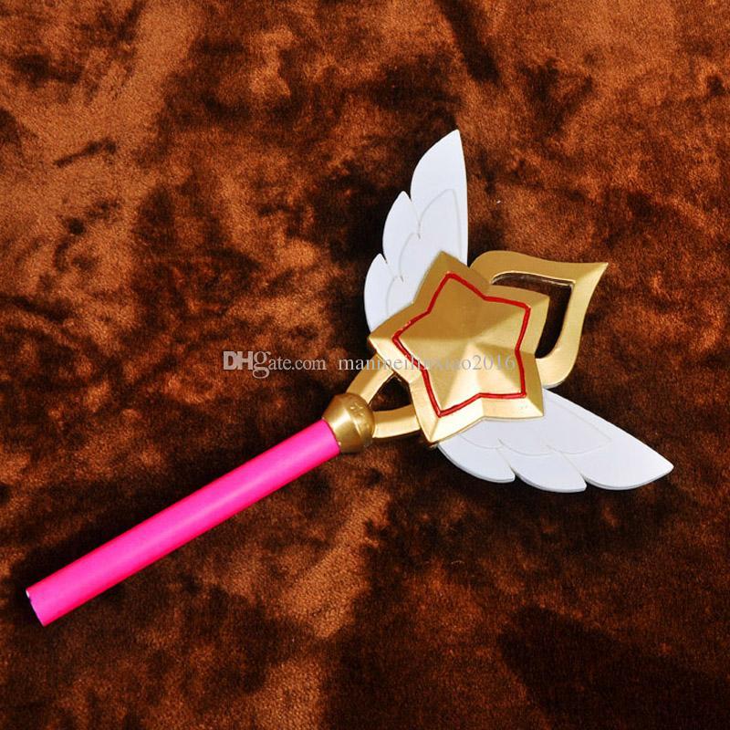 인기 Puella Magi Star 수호신 Lux Cosplay Prop COS 액세서리 PVC 수지 할로윈 Chrismas 무료 크기