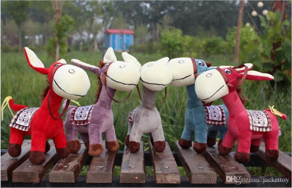 High quality Soft Simulation Donkey plush toys Cute animal stuffed dolls kawaii gift for kids toys
