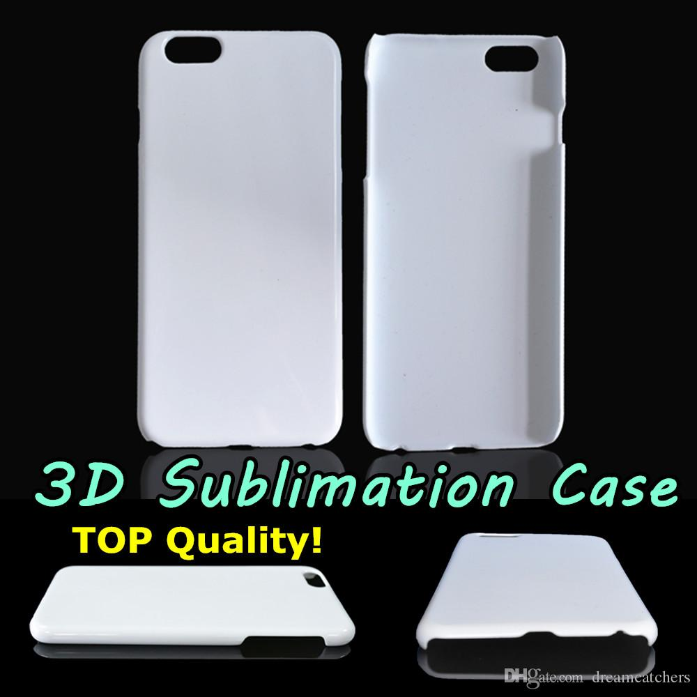 finest selection 67a11 87327 3D Sublimation Case Glossy Blank Full Area DIY Heat Transfer Printed Cover  For Iphone 5S 6 6S Plus Samsung S6 S7 Edge Note 5 Best Quality