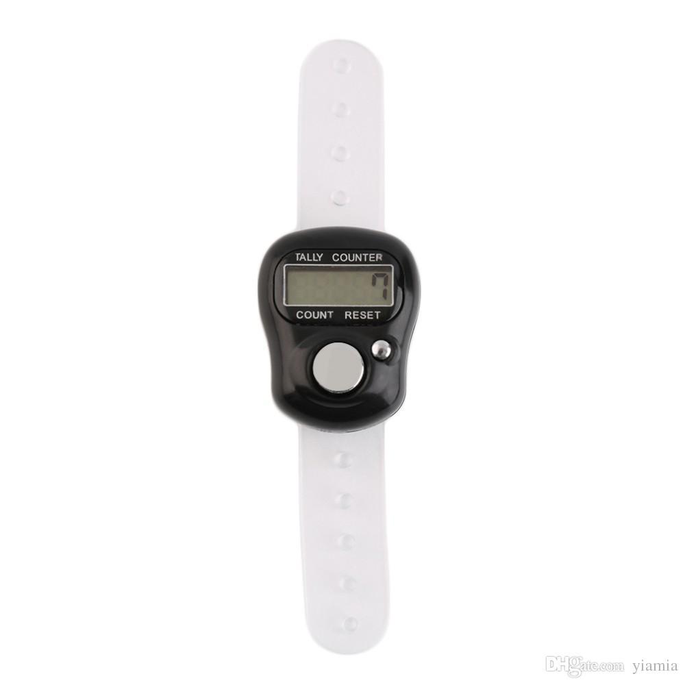 Mini Haneli LCD Elektronik Dijital Golf Parmak El Tally Tally Satır Sayaç Yüksek Kalite