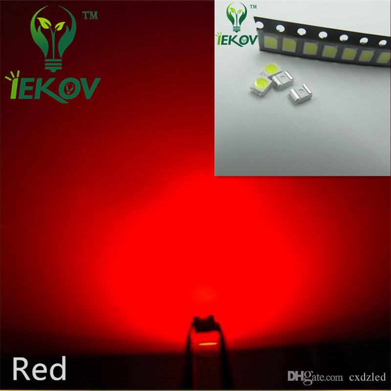 Hot SALE 2835 0.2W SMD Red LED Super Bright Light Diode High Quality SMT Chip lamp beads Suitable for bicycle DIY