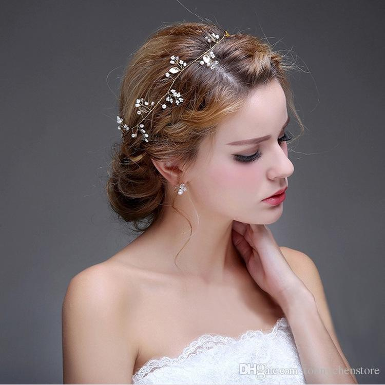 CHENLVXIE Hot European Designs Wedding Hats Flower Crystal Bridal Hairheaddress with iron Accessories Quinceanera Rhinestone Pageant