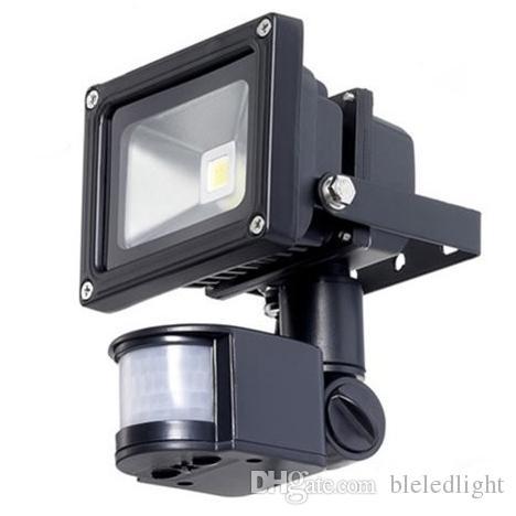 pir infrared motion sensor led floodlight 10w 20w 30w 50w cob ip65