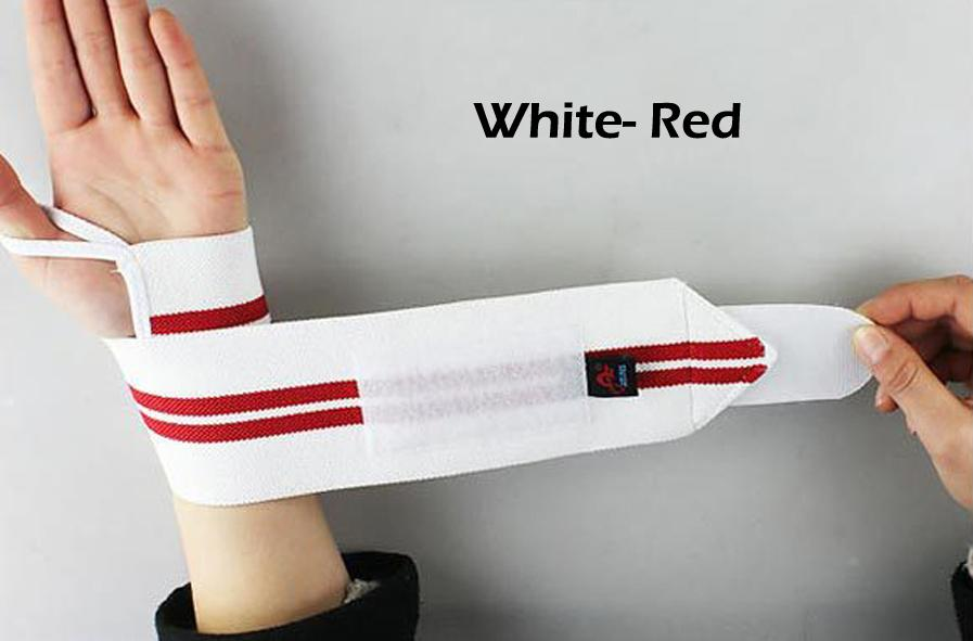 Weight Lifting Sports Wristband Gym Wrist Thumb Support Straps Wraps Bandage Fitness Training Safety Hand Bands