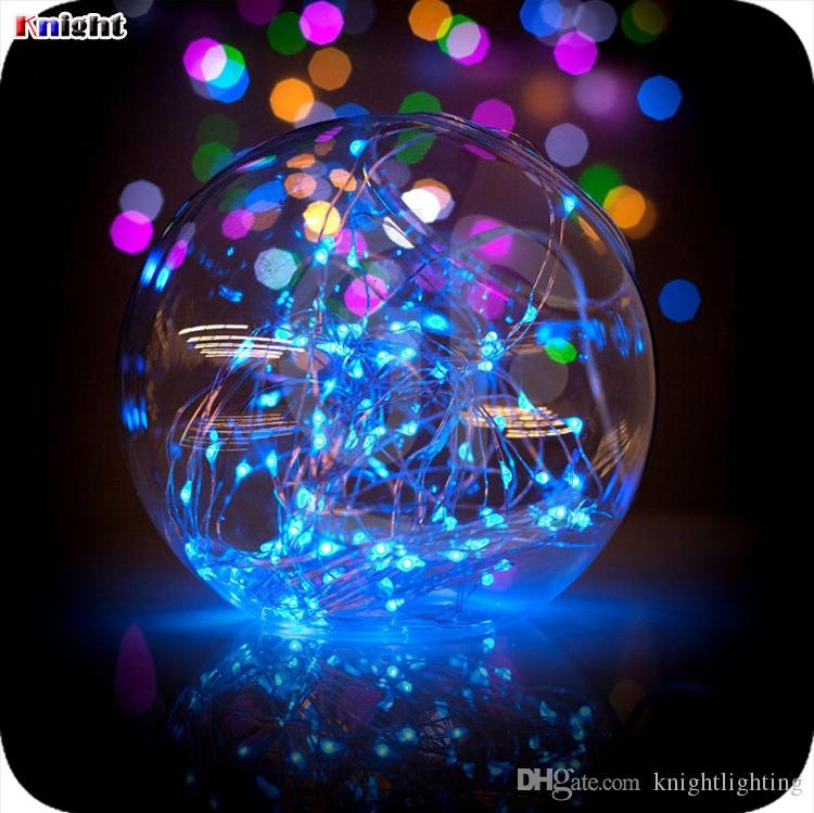 mini butter led copper light 1M/2M/3M/4m coin battery operated Copper wire led fairy string light for wed party flower arrangement