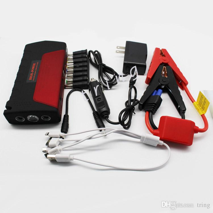 16800mAh Car Jump Starter Auto Engine EPS Emergency Start Battery Source Laptop Portable Charger Mobile Power Bank