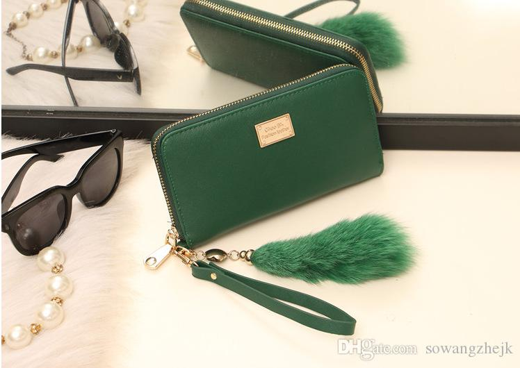Wallet For Women 2017 New Design High Quality Fashion Girls Purse Card Holder Long Clutch Wallet Designer