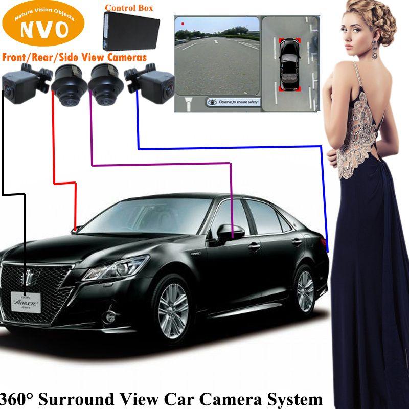 2018 Mini Car Rear View Camera 360 Degree Surround View