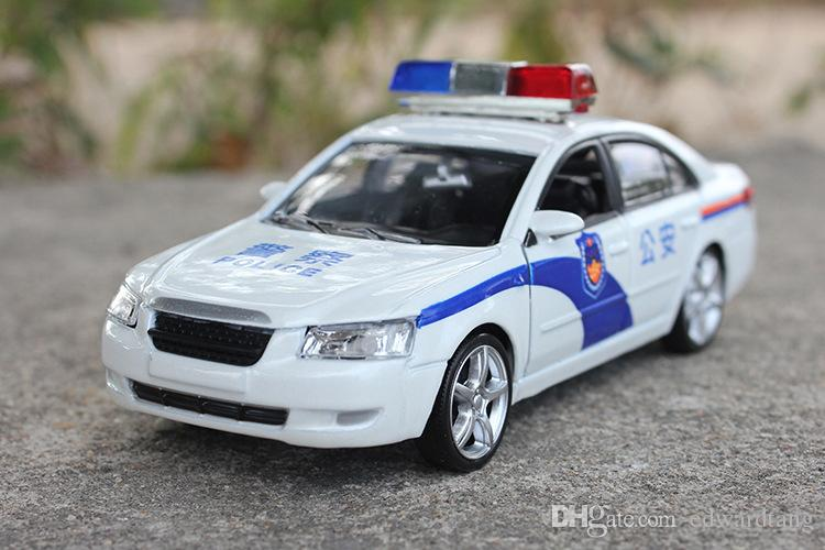 Alloy Car Model,Police Car,Patrol Wagon, High Simulation with Sound,Head  Lights, Boy Toy,Kid Gifts, Collecting, Home Decoration, Free Ship