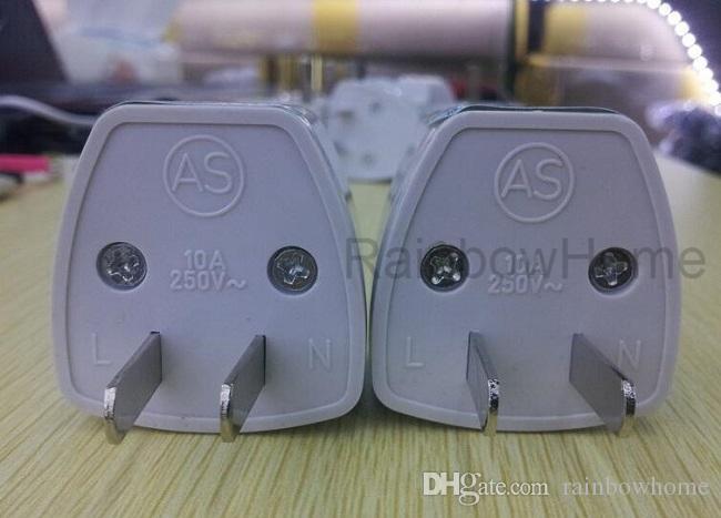Universal Viagem Plug Power Adapter US EU UK AU Padrão plug AC adaptadores de corrente de parede Cabeça Converter soquete Jack com Retail Box