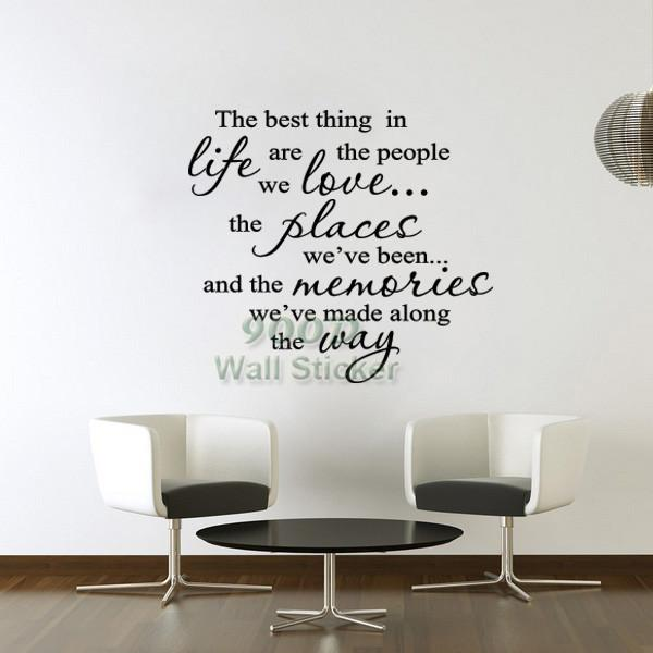 Ticker Candy Quote Wall Sticker The Best Thing Diy Home