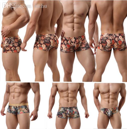 c310ec04d9f 2019 Wholesale New 2016 Details About New Trunks Sexy Underwear Men S Boxer  Shorts Bulge Pouch Soft Underpants From Sizhu