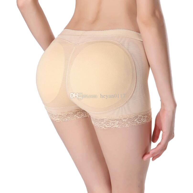 f9ecd6b014c7f Sexy Women Padded Panties Butt Lifter Control Panties Butt Enhancer Lift  Sexy Thicken Seamless Panty Push Up Underwear Hip Pad UK 2019 From  Heyan0117