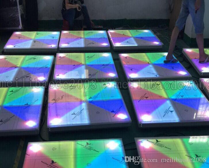 RGB Led Dance Floor Panel Tanzfläche Bühne Licht Disco Panel X10mm LED Dance Floor Disco KTV Licht Bühne Beleuchtung Boden MYY18