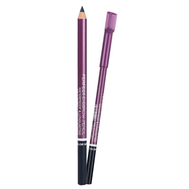 Wholesale Mn Menow Brand Cosmetic Eyebrow Pencil With Comb With