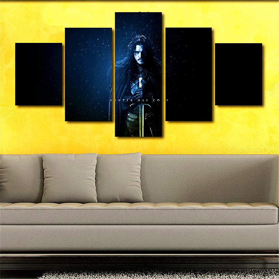 Game of Thrones -11,Home Decor HD Printed Modern Art Painting on ...