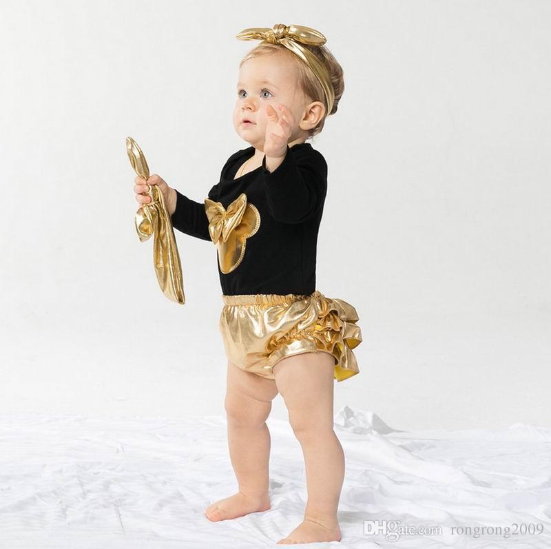 Vêtements pour filles pour bébés Ensemble de nouveau-nés oreilles bébé Body Noël Wear Fashion Outfits Toddlers Clothing E7670