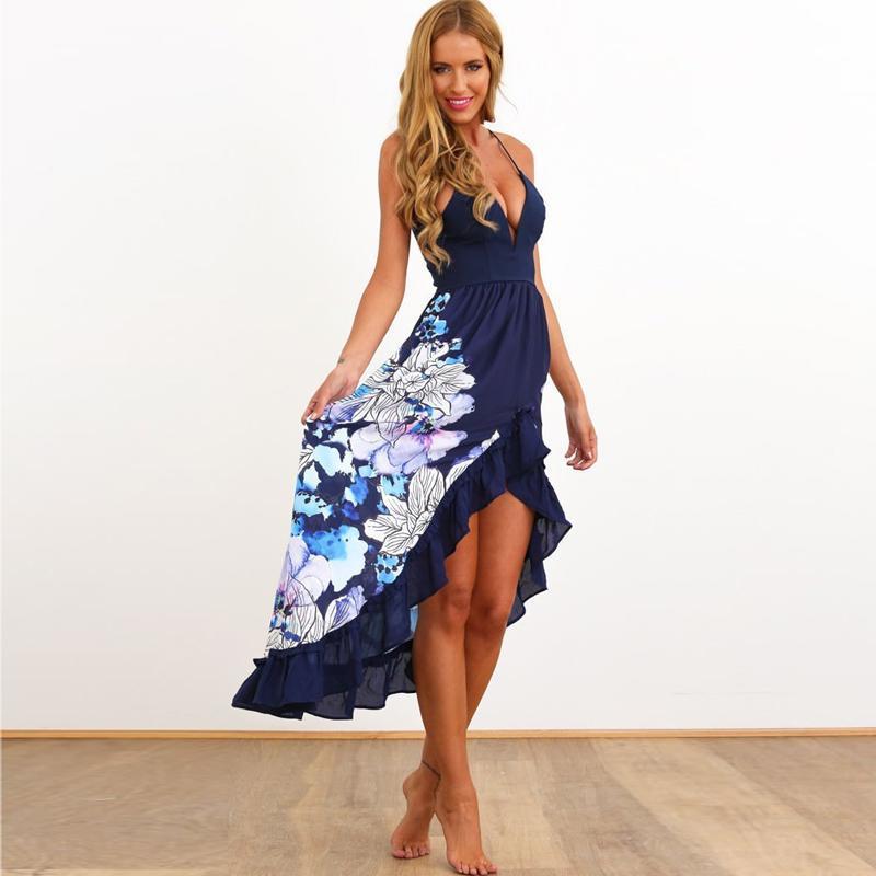 Großhandel Strandkleid Vestidos 2016 Sommer Stil Sonne Kleider ...