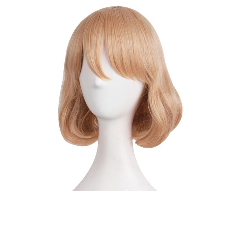 Parrucche sintetiche ricce parrucche sintetiche capelli resistenti al calore
